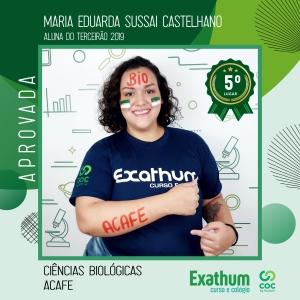 MARIA EDUARDA SUSSAI CASTELHANO