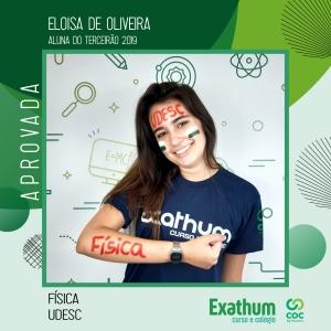 ELOISA DE OLIVEIRA