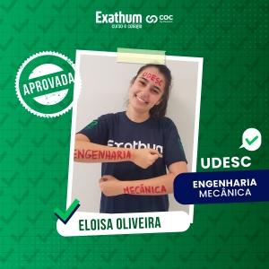 ELOISA OLIVEIRA