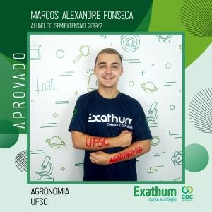 MARCOS ALEXANDRE FONSECA